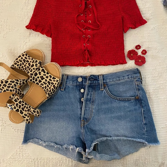 Levi High Waisted Shorts (SOLD)